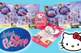 Littlest Pet Shop Blind Bags Our First LPS Blind Bags Hello Kitty Surprise Egg Blind Bag
