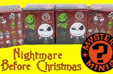 Nightmare Before Christmas Mystery Minis Blind Box Opening Funko