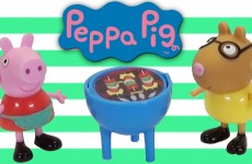 Peppa Pig BBQ Time Peek 'N Surprise Play Set with Pedro Pony a Nickelodeon Toy Review
