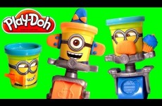 Play Doh Minions Stamp & Roll Set Despicable Me Toys NEW Official Toy Review Illumination 2015
