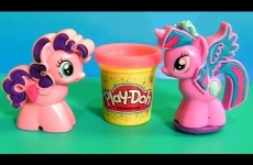 Play Doh Princess Twilight Sparkle Cutie Mark Creators Pinkie Pie My Little Pony 2015 NEW MLP