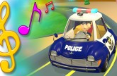 Police Car Song with Lyrics | TuTiTu Toys Songs for Children