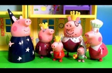 Princess Peppa's Royal Family Figures Review Nickelodeon Peppa Pig with Sir George the Knight