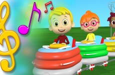 Roller Coaster Song with Lyrics | TuTiTu Toys Songs for Children