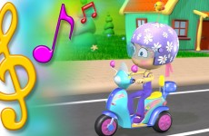 Scooter Song with Lyrics | TuTiTu Toys Songs for Children