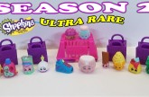 Shopkins Season 2 12 Pack and Shopkins Season 2 Blind Basket Unboxing with Ultra Rare Shopkins Toy