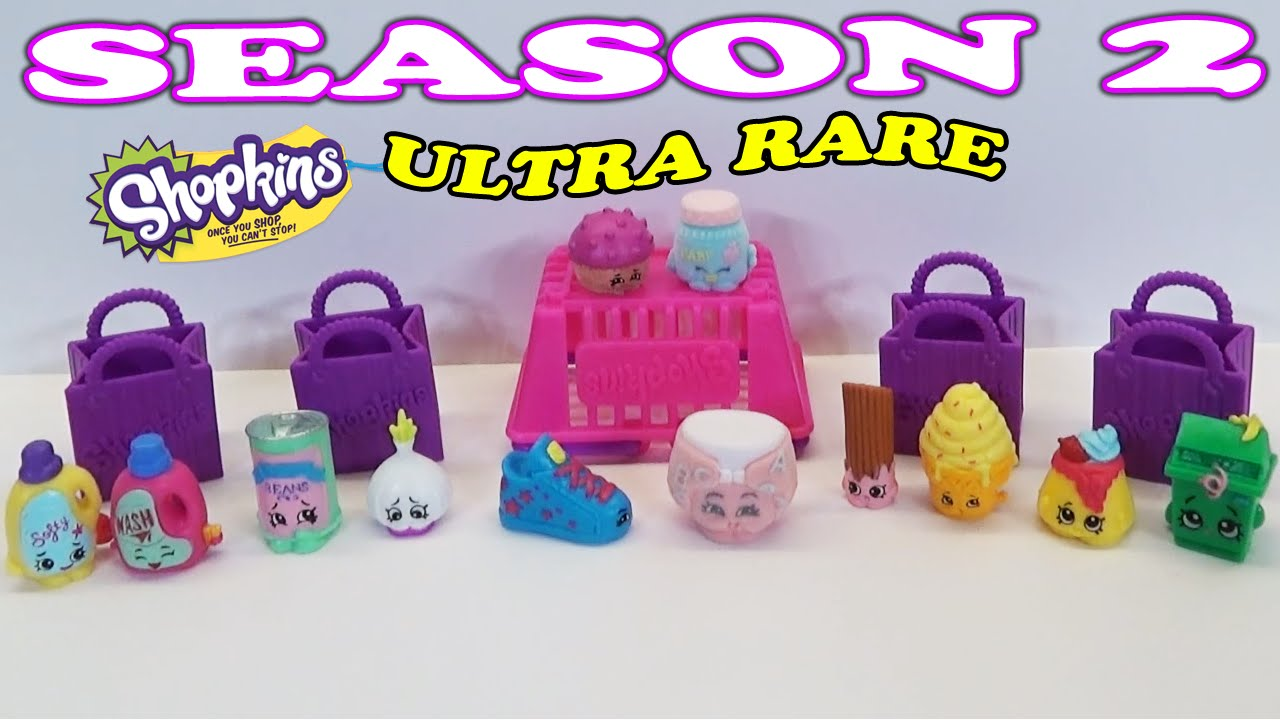 Shopkins Season 2 12 Pack And Blind Basket Unboxing With Ultra Rare Toy
