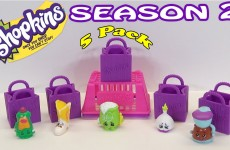 Shopkins Season 2 5 Pack Unboxing and Shopkins Season 2 Blind Bag