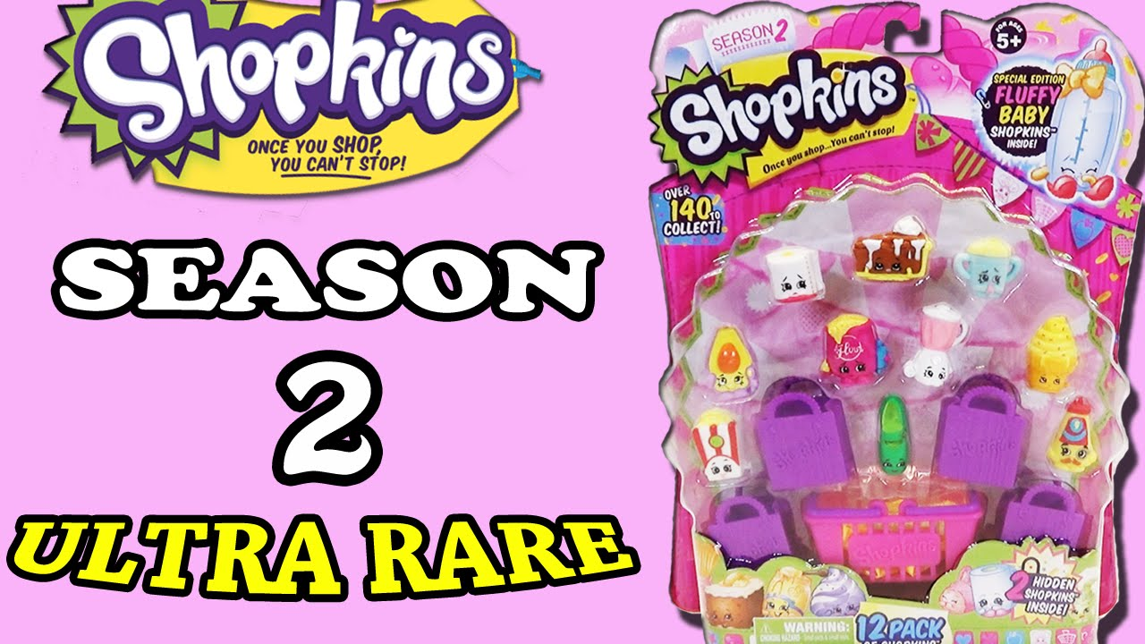 Shopkins Season 2 Blind Basket Unboxing And Shopkins