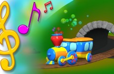 Train Song with Lyrics | TuTiTu Toys Songs for Children