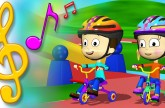 Tricycle Song with Lyrics | TuTiTu Toys Songs for Children