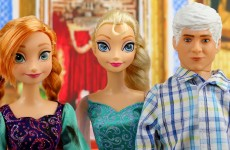 Elsa Gets Freezing Powers Back after Hans Takes It with Fire Powers. With Frozen Anna. DisneyToysFan