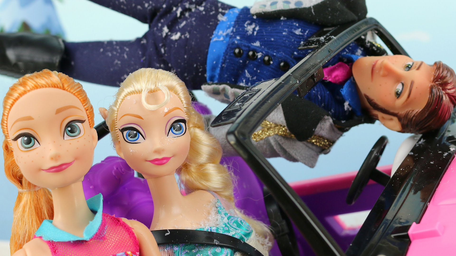 frozen anna saves elsa after hans kidnaps elsa and