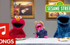 Sesame Street: Make Your Own Art Song