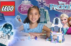 ELSA'S SPARKLING ICE CASTLE – LEGO Disney FROZEN Set 41062 Time-Lapse & Stop Motion