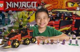 NINJA DB X – LEGO NINJAGO 2015 Set 70750 – Time-lapse Build, Unboxing & Review!