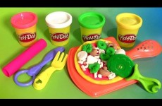 Play Doh Pizza Party – Play Dough Fiesta de Las Pizzas NEW 2015 Pizzeria Playset пицца  πίτσα