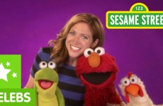 Sesame Street: Brittany Snow is Elmo's Friend