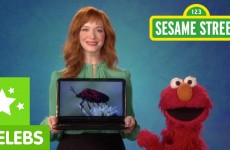 Sesame Street: Elmo and Christina Hendricks Discuss Technology