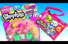 Shopkins Season 3 Purse Surprise Toys from Clay Buddies Peppa Pig ChupaChups PlayDough Season3