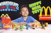 Skylanders Trap Team HAPPY MEAL TOYS! Complete Collection guest starring LEGO Minifigures!