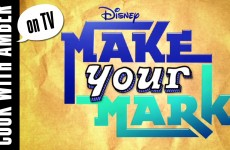 "Amber on Disney Channel's ""Make Your Mark"" 