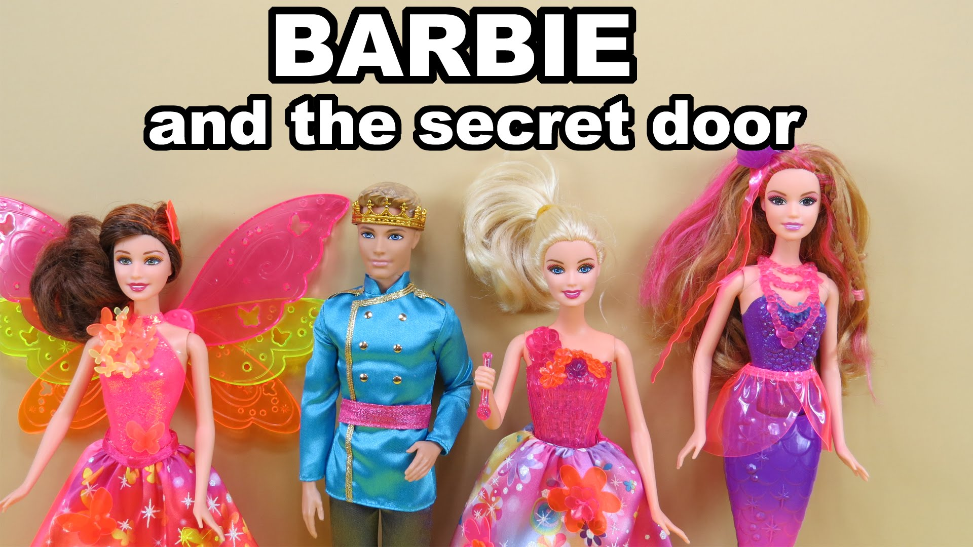 Barbie And The Secret Door Princess Alexa Nori Romy Prince