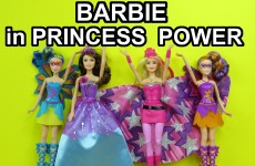 Barbie in Princess Power princess Kara Super Sparkle Corinne – unboxing presentation review