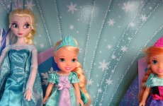 ELSA, ANNA's kids are SKATING in ELSA's Ice Castle !