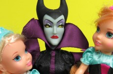 PART 1: MALEFICENT wants to steal ELSA and ANNA's kids! Kristoff helps . Will he succeed?