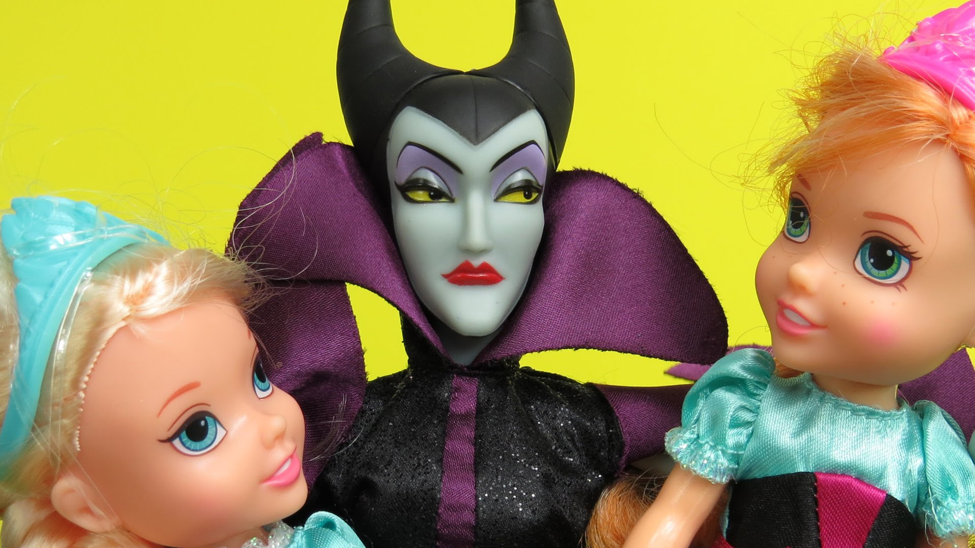 Part 1 Maleficent Wants To Steal Elsa And Anna S Kids