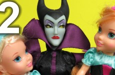 PART 2: MALEFICENT wants to steal ELSA and ANNA's kids AGAIN ! Mother GOTHEL helps! What now ?