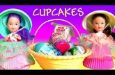 Cupcake Surprise Picnic Basket Dolls Disney Princess Cinderella Belle NumNoms PeppaPig MyLittlePony