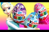 Disney Frozen Elsa Shopping for My Little Pony Kinder Eggs Surprise NEW MLP Toys Huevos