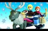 LEGO FROZEN Anna & Kristoff's Sleigh Adventure 41066 Disney Princess Lego With Oaken's Trading Post