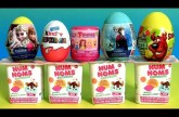 NUM NOMS Mystery Cup Surprise Eggs Disney Frozen Clay Peppa Kinder Princess Fashems Mashems NumNoms