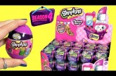 30 SHOPKINS SEASON 4 Fashion Spree FULL CASE Purple Shopping Baskets with Shopkins Eggs Surprise