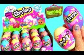 30 Shopkins Season4 Easter Eggs Surprise FULL CASE Opening Ovetti Huevos 60 Shopkins Season 4