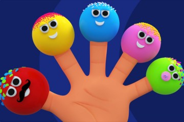 Cake Pops Finger Family | Nursery Rhymes And Kids Song