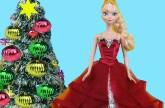 Christmas Tree Decorating! ELSA, ANNA & their kids make Wish Lists for Santa, sing Carols & have fun