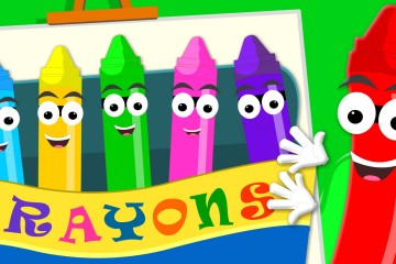 Crayons song   Color Song   Baby Videos
