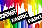DIY | How to make Fabric Paint No Cook – Easy DIY Crafts