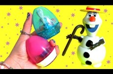 Easter Eggs Transforming Toys Anna Elsa Olaf MyLittlePony Kinder Surprise Disney Frozen TsumTsum