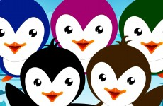 Five Little Penguins | Nursery Rhymes From Oh My Genius