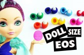 How to make an easy Miniature doll EOS lip balm – Easy Doll Crafts