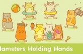 Learn to Count : Hamsters Holding Hands