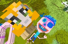 Minecraft Xbox – Quest To Make A Face Pretty  (146)