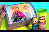 Music Box Surprise Disney Princess Anna Elsa Play Doh Surprise Peppa Pig Kinder MyLittlePony Toys