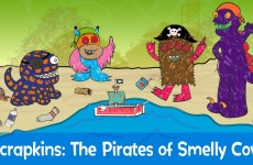 Scrapkins : The Pirates of Smelly Cove