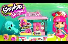 Shopkins Shoppies Donatina's Season 4 Donut Delights Playset EXCLUSIVE Mini Donuts and Doll 2016